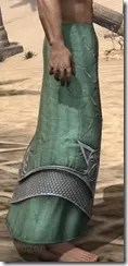 Sapiarch Iron Greaves - Male Right