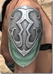 Sapiarch Iron Pauldron - Female Right