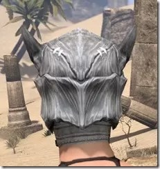 Scalecaller Iron Helm - Female Rear