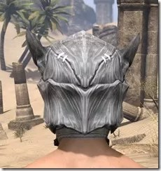 Scalecaller Iron Helm - Male Rear