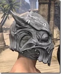 Scalecaller Iron Helm - Male Right