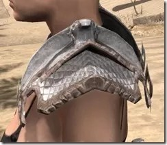 Scalecaller Iron Pauldron - Female Side