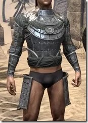 Tsaesci Iron Cuirass - Male Front