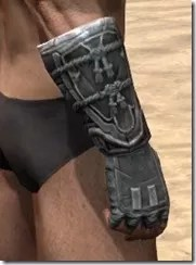 Tsaesci Iron Gauntlets - Male Right
