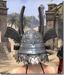 Tsaesci Iron Helm - Female Rear