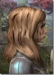 Barbaric Windblown Hair Female Side