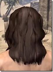 Barbaric Windblown Hair Male Rear