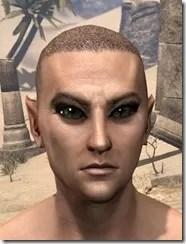 Dark Emphasis Eyelashes Male