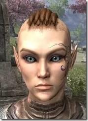 Eye-Briar Gemmed Tattoo Female Front