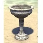 Alinor Bowl, Stemmed Limestone