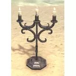 Alinor Candelabra, Wrought Iron