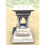 Alinor Display Stand, Marble