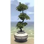 Alinor Potted Plant, Triple Tiered