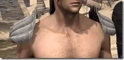 Pyandonean Homespun Epaulets - Male Front