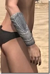 Pyandonean Iron Gauntlets - Female Right