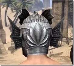 Pyandonean Iron Helm - Male Rear