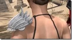 Pyandonean Iron Pauldron - Female Rear