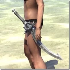 Pyandonean Iron Sword
