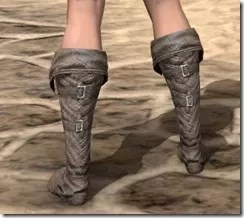 Pyandonean Rawhide Boots - Female Rear