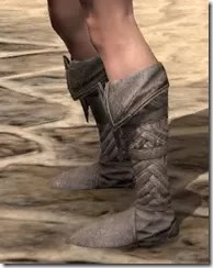 Pyandonean Rawhide Boots - Female Side