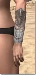 Pyandonean Rawhide Bracers - Female Side