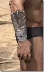 Pyandonean Rawhide Bracers - Male Right