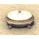 Scrimshaw Jewelry Box, Verdant Oval