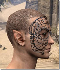 Wire Cage Half-Mask Male Side