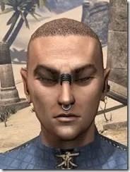 Fierce Pierce Facial Rings Male Front
