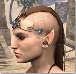 Magicka Brow Medallion - Female Side