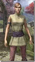 Rawhide-Laced Riften Jerkin Dyed Close Front