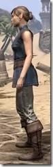 Rawhide-Laced Riften Jerkin Female Side