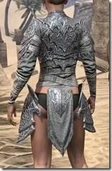 Dremora Iron Cuirass - Female Rear