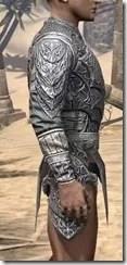 Dremora Iron Cuirass - Male Right