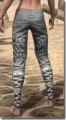 Dremora Iron Greaves - Female Rear