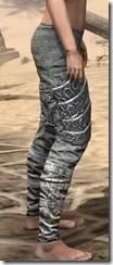 Dremora Iron Greaves - Female Right