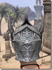 Dremora Iron Helm - Female Rear