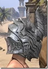 Dremora Iron Helm - Female Right