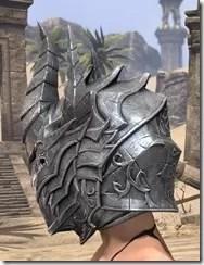 Dremora Iron Helm - Female Side