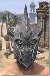 Dremora Iron Helm - Male Front