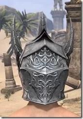 Dremora Iron Helm - Male Rear