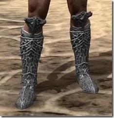 Dremora Iron Sabatons - Male Front