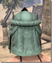 Fanged Worm Heavy Helm - Female Rear