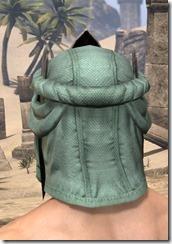 Fanged Worm Heavy Helm - Male Rear