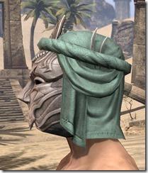 Fanged Worm Heavy Helm - Male Side