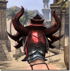 Firedrake Helm - Female Rear