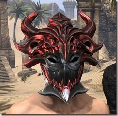 Firedrake Helm - Male Front
