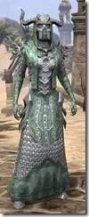 Horned Dragon - Female Robe Front
