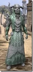 Horned Dragon - Male Robe Front