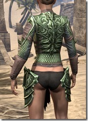 Pit Daemon Cuirass - Female Rear
